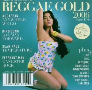 REGGAE GOLD 2006 + DVD
